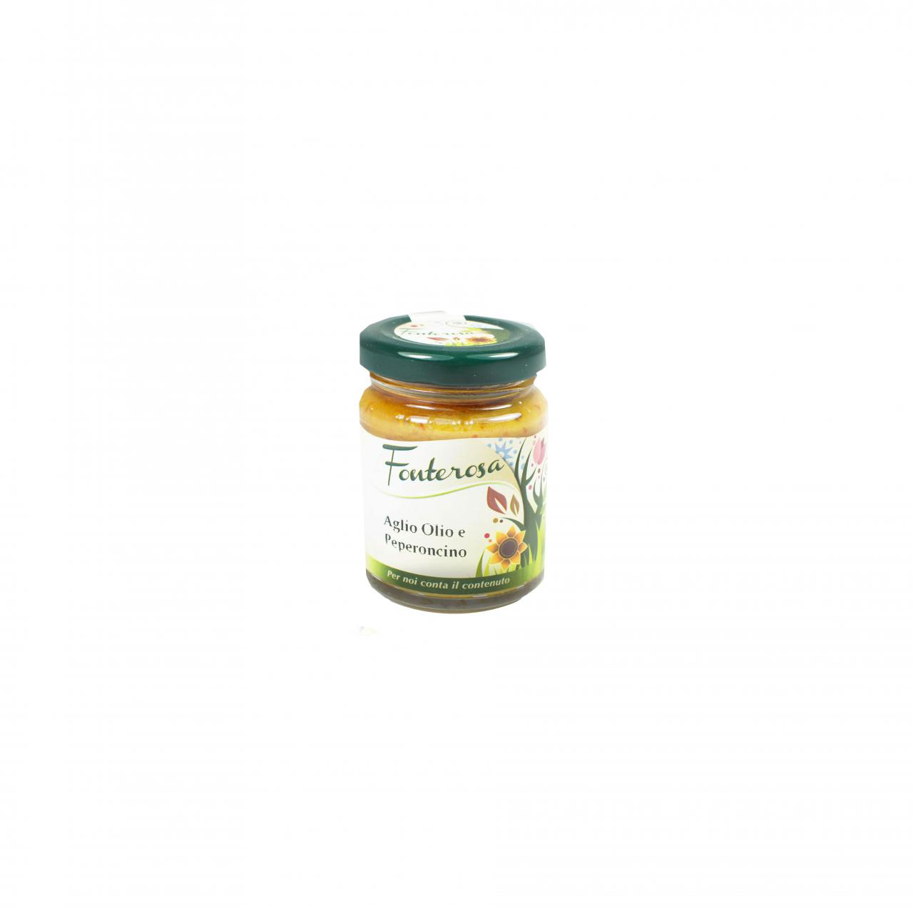 Knoblauch-Peperoni-Paste