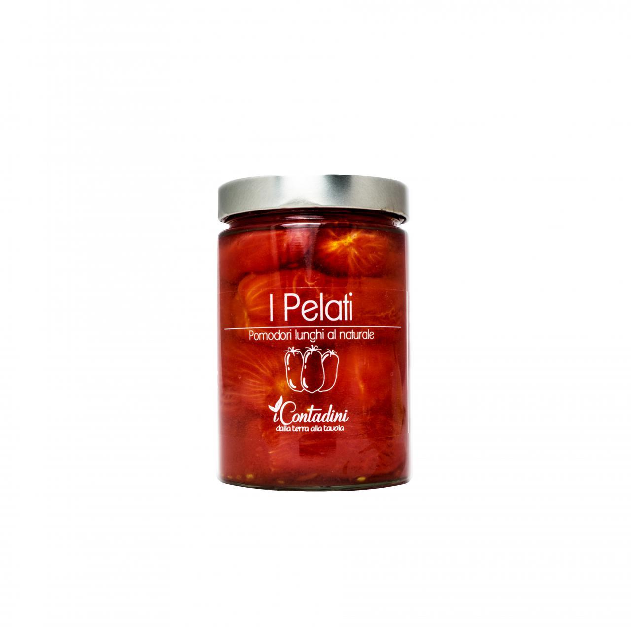 Pelati, Tomaten geschält im Glas