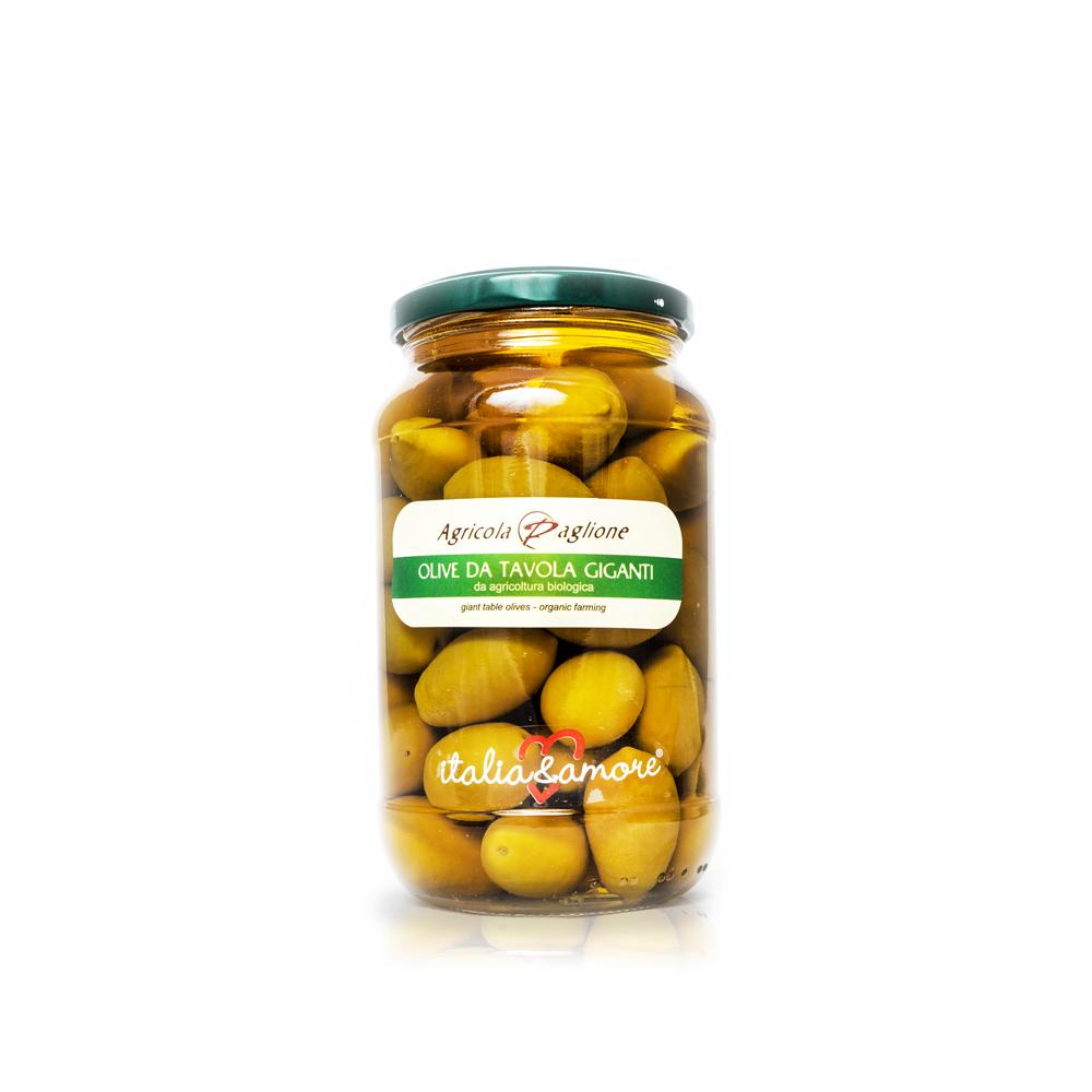 Olive de Tavola Giganti - Agricola Paglione | Feinkostundwein