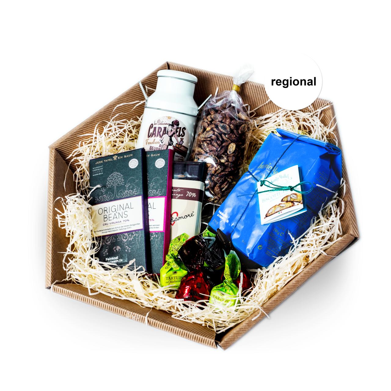 Präsentkorb Süßer Genuss Geschenke Saarland | Feinkostundwein
