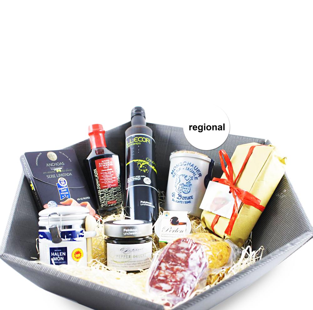 Präsentkorb Premium Geschenke Saarland | Feinkostundwein