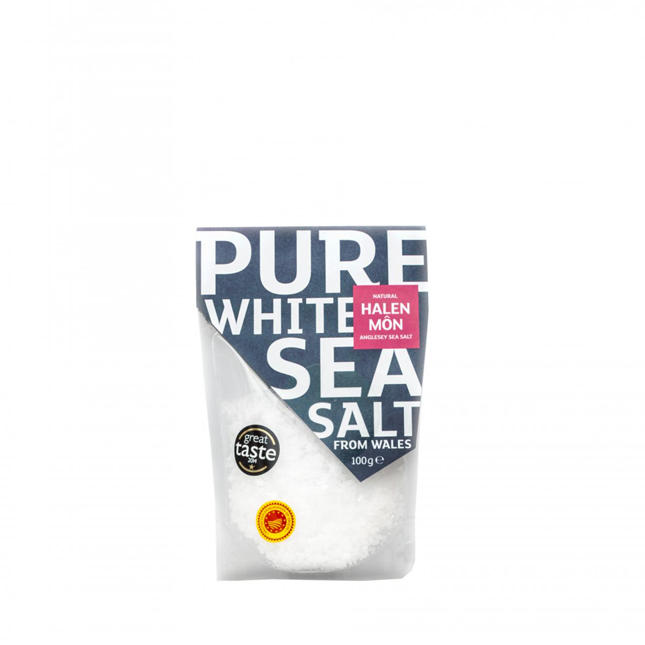 Pure White Sea Salt (100g)