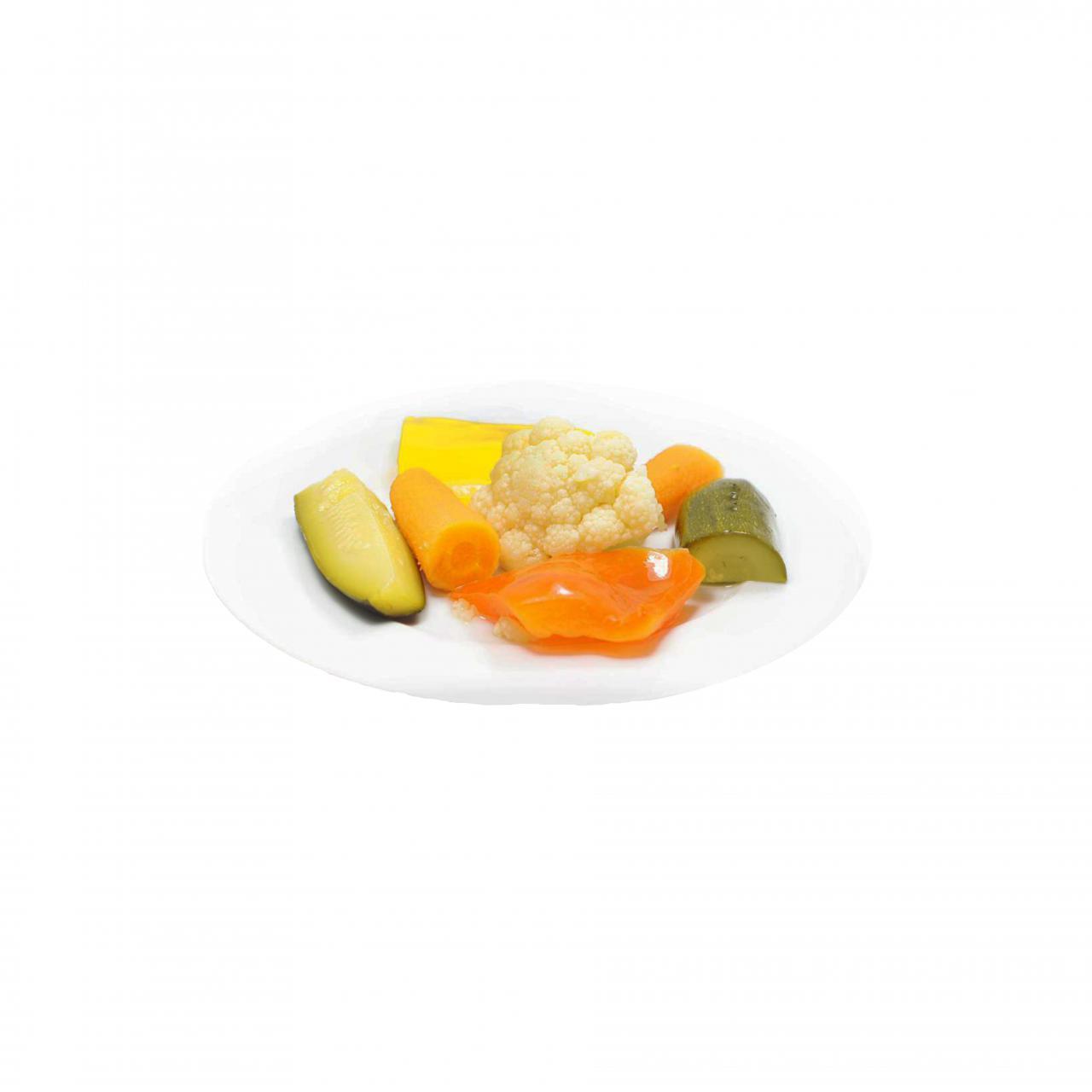 Süßsauer eingelegtes Gemüse (1650g)