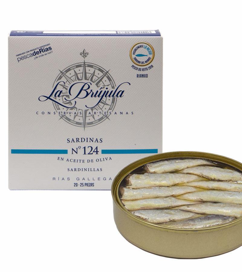 Sardinen-Premium Nr.124 handgeangelt
